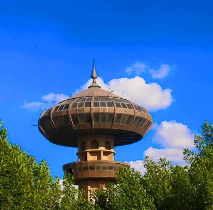 برج الزواء في بغداد في متنزه الزوراء