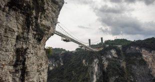 بالصور اطول واعلى جسر زجاجي في العالم 2017