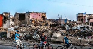 صوره حصرية لمدينة الرمادي بعد فك حصار داعش