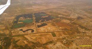 احدث صور جوية لبغداد