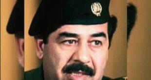 صورة نادره جدا للرئيس العراقي الراحل صدام حسين