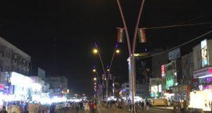 بالصور غلق منطقة المنصور حتى نهاية عيد الاضحئ المبارك
