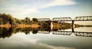 مناظر الغروب في مناطق العراق تخبل