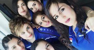 سيلفي منتخب العراق النسوي لكرة اليد