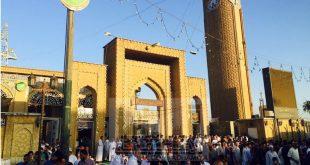 صور صلاة العيد في جامع ابو حنيفة النعمان في الاعظمية