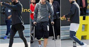 صوره لاعبين المصابين في نادي برشلونه