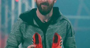 بالصور حذاء ليونيل ميسي الجديد من اديداس