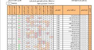 نتائج السادس المهني الدور الثاني 2017 في العراق