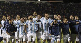 عاجل الارجنتين تتأهل الى نهائيات كأس العالم 2017