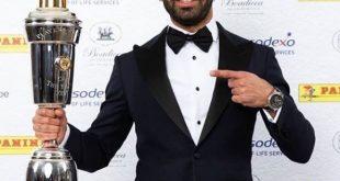 محمد صلاح يتوج بجائزة أفضل لاعب في الدوري الانجليزي للعام 2017/2018