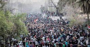 عاجل ايقاف التظاهرات في البصرة لحين السيطرة عليها
