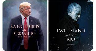ترامب يتوعد بعقوبات جديدة لايران و سليماني يرد
