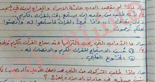 ملخص مادة الاسلامية للصف السادس الابتدائي 2019 في العراق