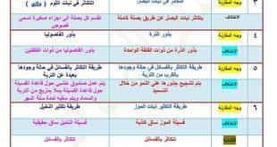 مجموعة من قارن بين لمادة العلوم للصف السادس الابتدائي 2019 في العراق