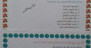 مرشحات قواعد اللغة العربية السادس الابتدائي  2019 في العراق