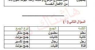 اجوبة اسئلة الامتحان اللغة العربية للصف السادس الابتدائي الدور الثاني 2019