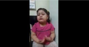 بالفيديو بنيه عراقية تبجي من ريجيم وتريد تاكل