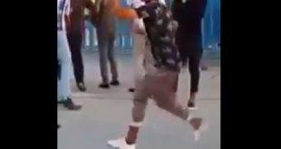 بالفيديو شباب يرقصون في مدينة العاب الزوراء في بغداد