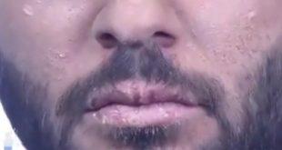 شاهد بالفيديو شاب عراقي يجسد عطش الامام الحسين عليه السلام
