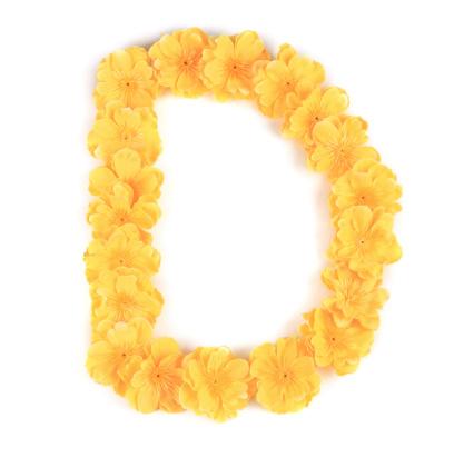 Letter D flower alphabet.