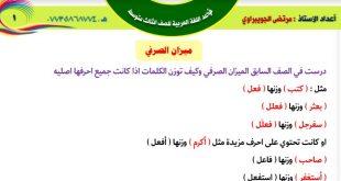 تنزيل ملزمة قواعد اللغة العربية للصف الثالث المتوسط 2020