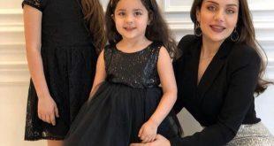 صور بنت هيفاء وهبي وحفيداتها 2020