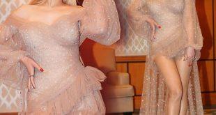 اطلالة هيفاء وهبي في حفلتها في رأس السنة 2020
