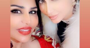 الفنانة احلام تشارك جمهورها بصورة مع ابنتها