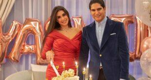 صور  من احتفال ياسمين صبري بعيد ميلادها