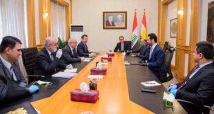 عاجل وفد حكومة إقليم كردستان سيزور بغداد غدا قبل عرض الموازنة على التصويت
