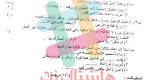 اسئلة امتحان التمهيدي مادة اللغة العربية السادس الابتدائي 2021